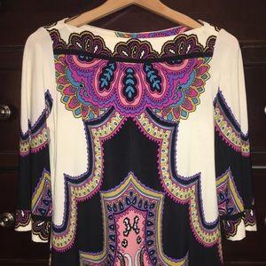 Donna Morgan dress size 6, 3/4 sleeve EUC
